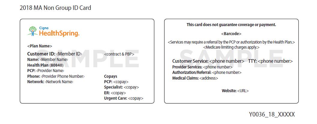 Customer Information Cigna Medicare